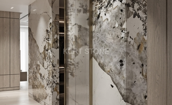 Стены из кварцита