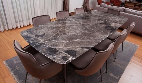 Столешница из мрамора для обеденных столов