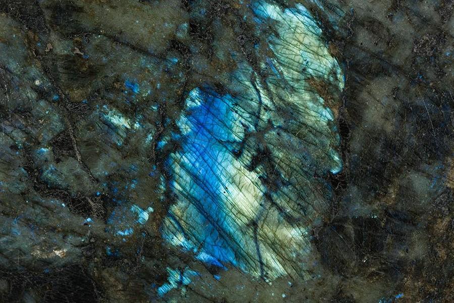 Лабрадорит LEMURIAN BLUE